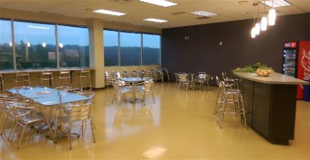 Painting a company break room in Henderson Nevada