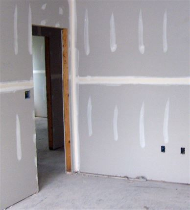 Painting new drywall as installed in Henderson, NV