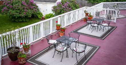 Commercial deck painting in Henderson Nevada