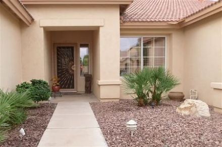 Exterior Residential Entrance  Painting Henderson, Nevada