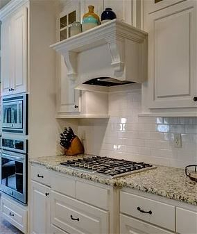 Off white classic kitchen with painted cabinets Henderson, Nevada